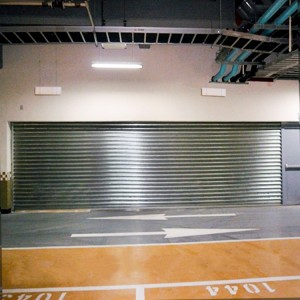 DIAN-F1603 special type fire rated roller shutter