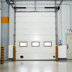 DIAN-SD2401warehouse sectional door with Windows